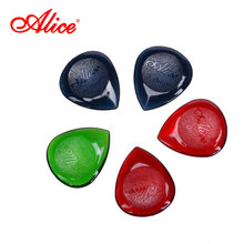 Alice Brand Pick Thickness 1.0mm-3.0mm 12 Per Pack Random Thickness Color Acoustic Electric Guitar Pick AP-100J