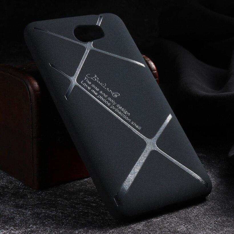 Ultra Thin Scrub Delgado de silicona Suave Cajas Del Teléfono De Huawei Y5II Y5