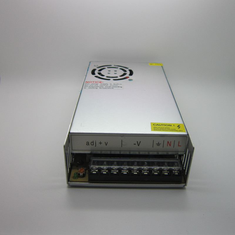 AC 100-240V Input to DC 48V 7.5A 360W Switching Power Supply Driver For LED Strip, DC 48V7.5A free shipping best quality 360w switching power supply driver for cctv camera led strip ac 100 240v input to dc 80v 48v 40v 36v 24v 12v 5v
