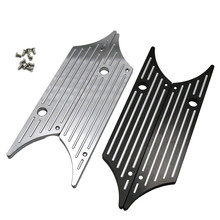 Motorcycle Accessories Halley Glide Street Modified Side Box Lock Cover Decorative Back