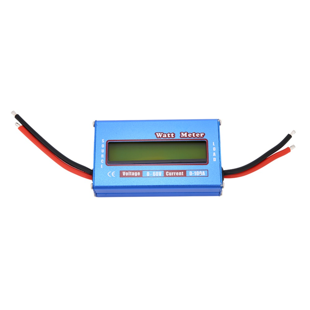 Charger Watt Meter: DC 60V 100A Balance Voltage Battery Power Analyzer RC Watt
