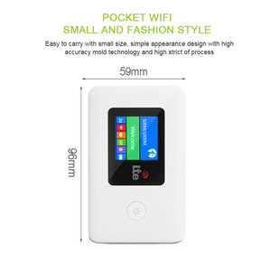 Image 2 - 4G Wifi Router Unlocked 150 Mbps 3G/4G LTE Outdoor Reizen Draadloze Router Met SIIM Kaart TF Card Slot Pocket Tot 10 Gebruikers