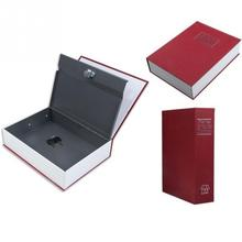Booksafe Lock Key Dictionary Safe Storage Box Case Diversion Secret Cash Security Stash