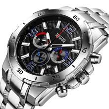 цена Relogio Masculino 2019 Watch Men Fashion Sport Quartz Watch Mens Watches Top Brand Luxury Stainless Steel Business Wristwatch онлайн в 2017 году