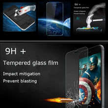 Tempered Glass For iphone 4 4s 5 5s 5c 6 6s 7 plus 0.26mm Ultra-thin 9H Screen Protect HD 3D Touch Toughened Protective Film