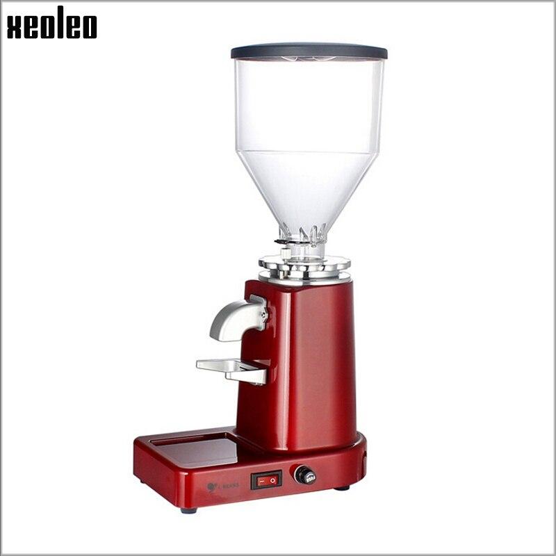 Xeoleo moulin à café électrique Commercial et la maison moulin à café en grains machine fraiseuse Professionnel Café Poudre Miller
