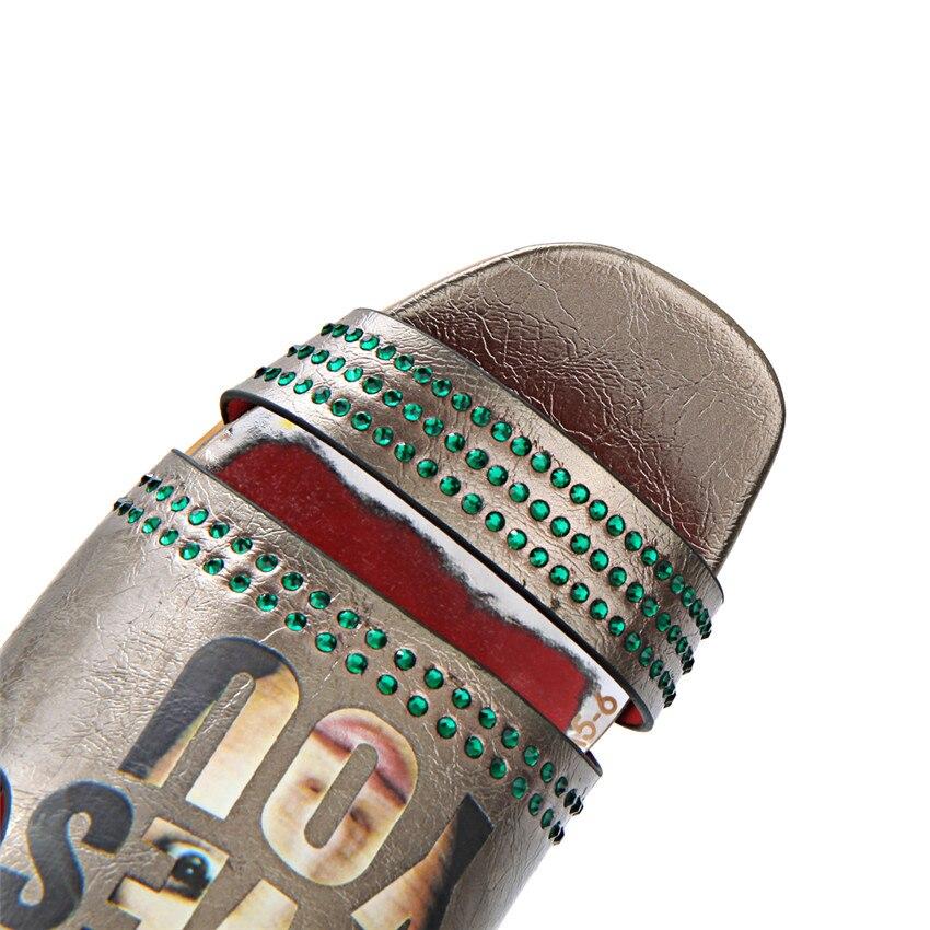 Bombas 34 40 Mujeres blanco Más Tamaño Sandalias Zapatos Toe Zapatillas Bajo Tacón Oscuro Peep Slingbacks 41 43 Altos Alto Gris Mujer Tacones rojo 42 Verano TTrawn8q