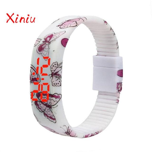 Bracelets Female 2018 Horloges Vrouwen Ladies Watch Silicone Analog Quartz Luxur
