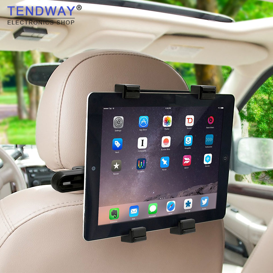 Tendway Car Tablet Stand for ipad pro mini Samsung 360 Degree Back Seat Tablet Car Holder Headrest 7-11 inch Tablet Mount HolderTendway Car Tablet Stand for ipad pro mini Samsung 360 Degree Back Seat Tablet Car Holder Headrest 7-11 inch Tablet Mount Holder