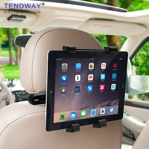 Tendway 360 Degree Back Seat 7-11 inch Car Tablet Stand for ipad pro mini
