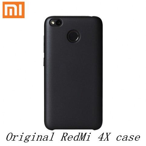 Xiaomi Redmi 4X Case Original Official Redmi 4X Case Cover Velvet Texture Protection Cases Xiaomi Redmi4X