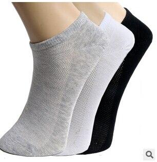 5pairs High Quality Men Socks short Cotton Socks Male Spring Summer Cool Soild Mesh Socks