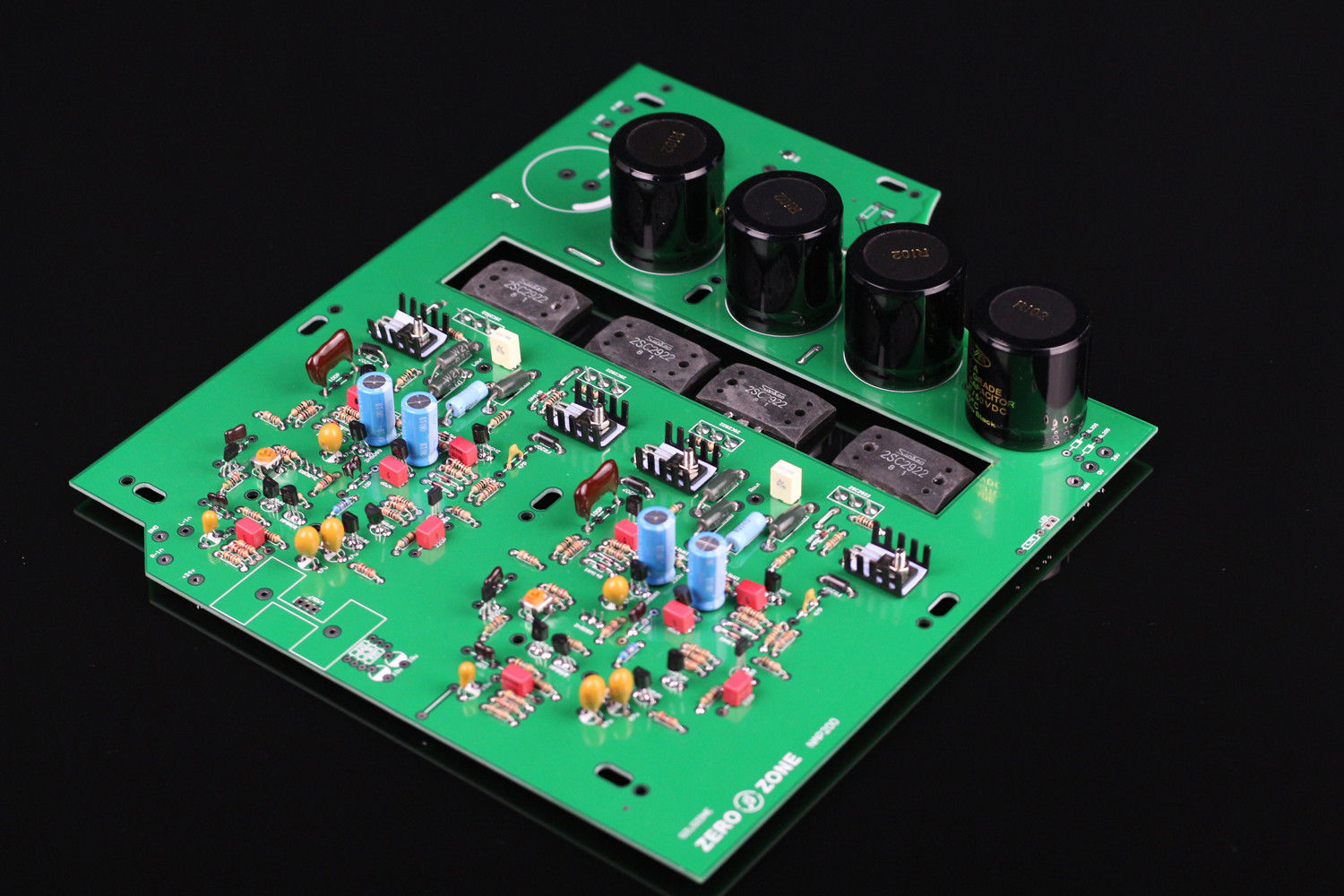 ZEROZONE Assembeld Clone Naim NAP200 Stereo Amplifier board 75W+75W DIY power amp L5-5 stereo nap200 power amplifier base on uk naim black box power amp finished board