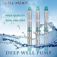 80QJD1 44 1 5 24 Borehole Pump Vertical Turbine Pump Deep Well Pump 1 5hp