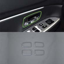 ABS matte silver inner door handle cover 4pcs Car Styling accessories For Mitsubishi 2013 ASX