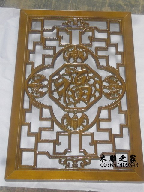 custom dongyang wood lattice windows and doors entrance screen