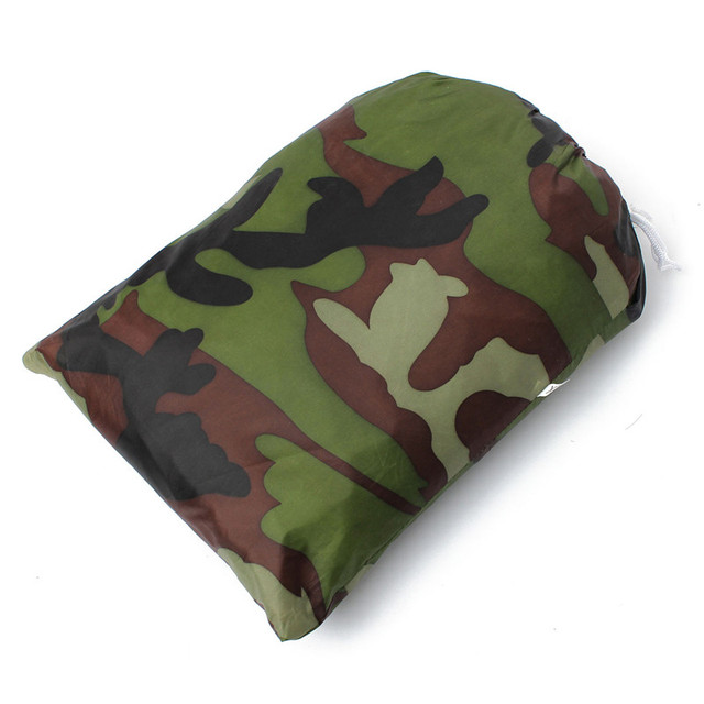 Dustproof Waterproof Camouflage Motorcycle Scooter Cover Outdoor UV Protection 265*105*125cm