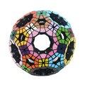 Verypuzzle 62 Caras Vacío Tuttminx (Negro, Stickered) Profesional Cubo Mágico Rompecabezas Twisty Puzzle Juguetes Educativos de Alta Calidad