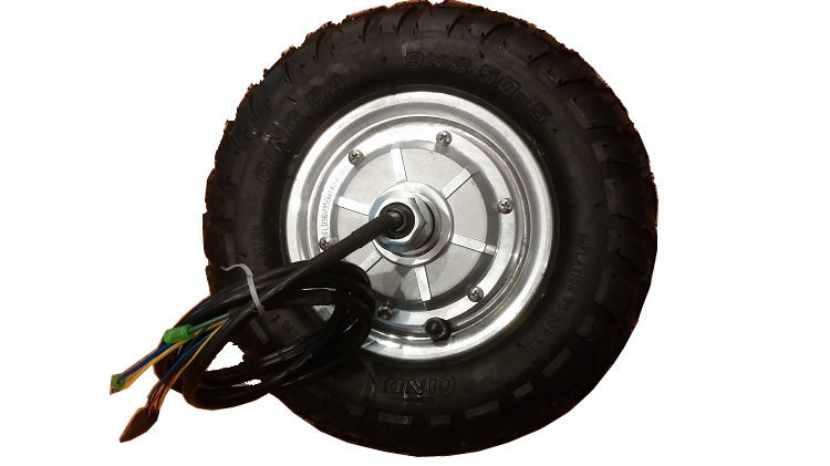 E-tech CE approved 9 inch 250W/500W/800W hub <font><b>electric</b></font> <font><b>scooter</b></font> <font><b>motor</b></font> <font><b>wheel</b></font> image