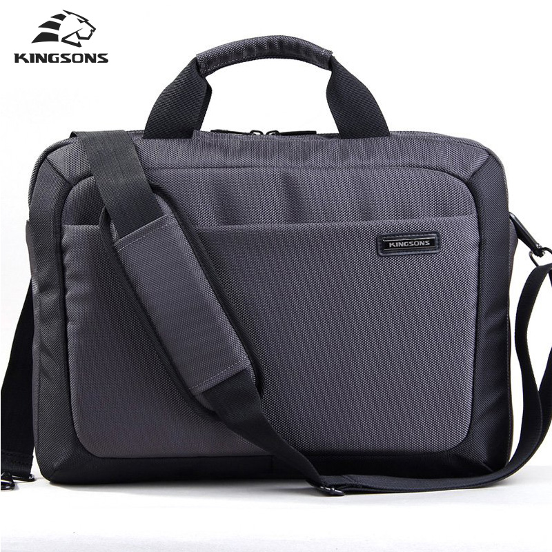 Kingsons  Laptop Bag 14.1 inch Notebook Computer Laptop Sleeve Case for Men Women Waterproof Shockproof Briefcase Shoulder Pack lowepro protactic 450 aw backpack rain professional slr for two cameras bag shoulder camera bag dslr 15 inch laptop