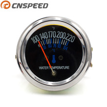 Replacement Water-Temperature-Gauge/car-Meter Mechanical Cnspeed 52mm DC 12V Black YC101085