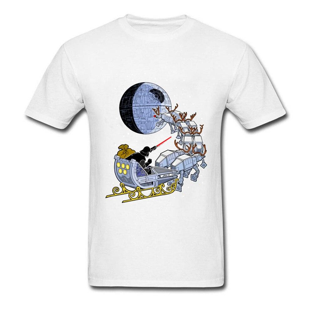 Mens Star Wars T-Shirt DARTH VADER SANTA/'S SLEIGH Christmas T-Shirts
