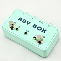NEW Guitar ABY Mini Seletor Combiner Footswich AB Box Pedal Guitarra True Bypass