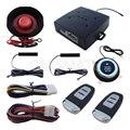 Rolling Code Universal de Alarme de Carro PKE Com Sistema de Parada de Partida Do Motor Do Carro Auto Lock & Unlock