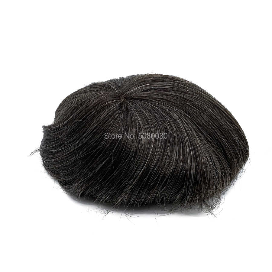 system hair lace wig men full lace swiss lace toupee human remy hair free shipping Fedex DHL