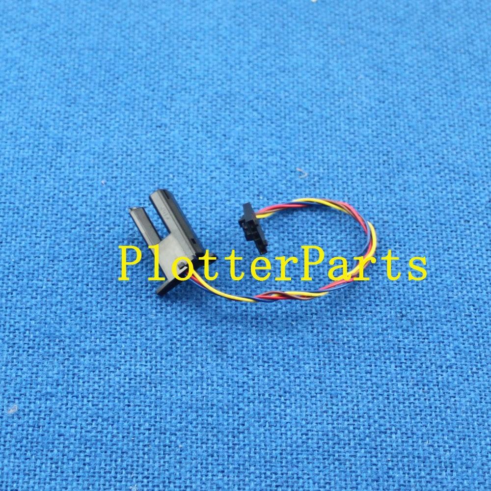 CH538-67033 Single sheet sensor for HP DesignJet T770 T790 T1200 T1300 T2300 plotter part original used ch538 67018 carriage belt for hp dj t1200 t1300 t2300 t770 z5200 44inch plotter part original new