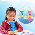Pink/Blue Adjustable Anti-myopia Sitting Writing Posture Corrective Braces Frame For Student Children Kids Eye Protection H7JP