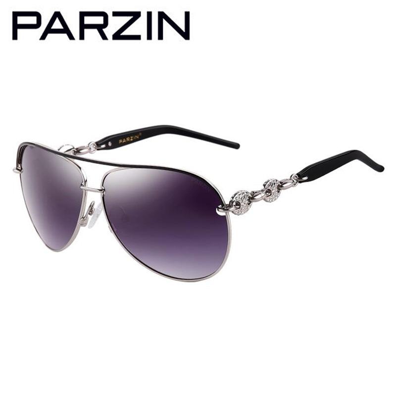 Parzin Handmade Strass Polarisierte Sonnenbrille Frauen Luxus - Bekleidungszubehör - Foto 3