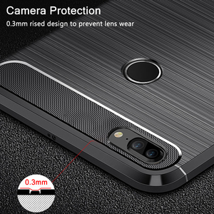 Image 2 - For Huawei Honor 9 Lite Case Honor9 Lite Carbon Fiber Bumper TPU Silicone Protective Back Cover for Huawei Honor9 Lite