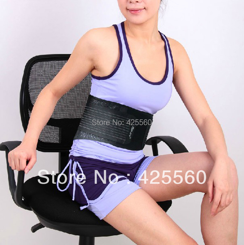 Breathable Lumbar Support Adjustable Waist Brace Posture Belt For Injury Relief Disc Herniation Muscle Degeneration breathable medical waist support wrap brace belt lumbar disc herniation psoatic strain stainless steel rod