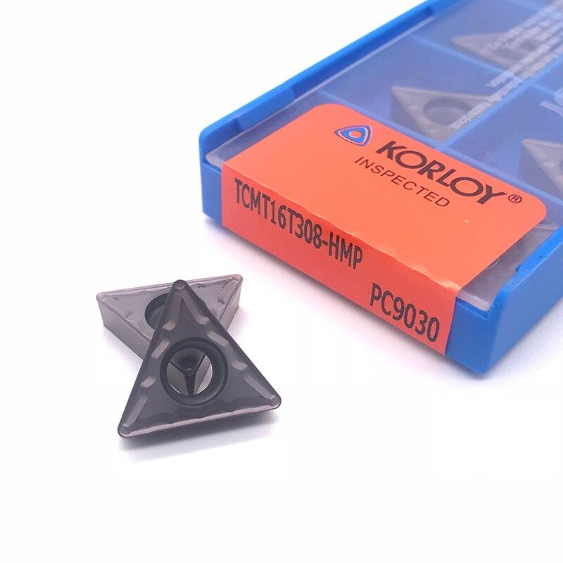 Купить с кэшбэком Insert 100% Original TCMT16T304 TCMT16T308 HMP PC9030 high quality Internal Turning tool carbide insert for stainless steel