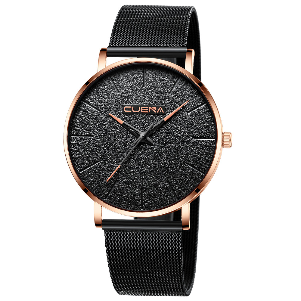 Casual Men Women Couple Lover's Watches Simple Stainless Steel Ultra-thin Dial Man Wrist Watch Analog Quartz Wristwatches reloj