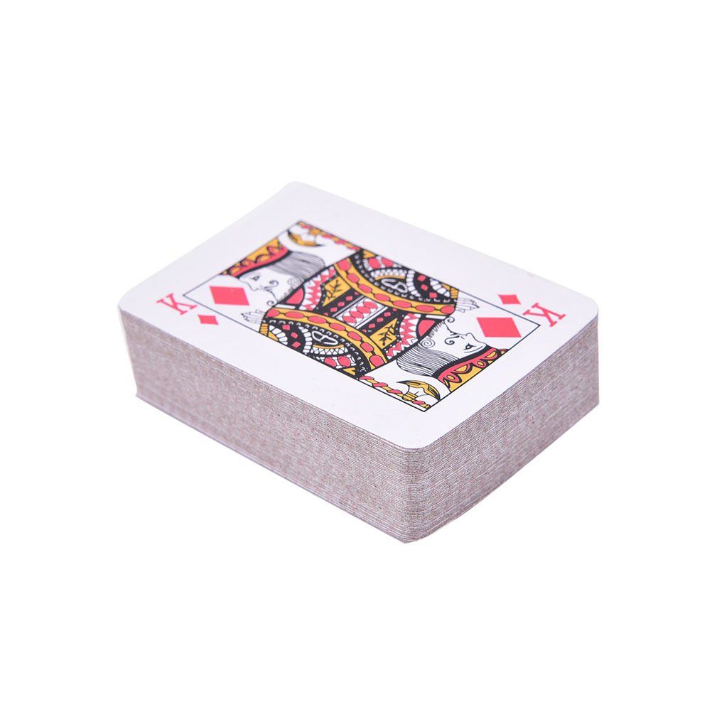 HOT Mini Poker Small Playing Cards Family Game Travel Game 5.3*3.8 Cm