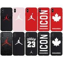 99d070443ee Brand NEW Sport Jordan Air Dsquared ICON Logo Soft Case for iPhone 7Plus  8Plus 7 8