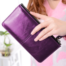 MONNET CAUTHY New Arrivals Womens Wallet Candy Color Red Yellow Purple Sky Blue Concise Classic Fashion Organizer Wallets Long