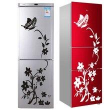 2020高品質ウォールステッカークリエイティブ冷蔵庫ステッカー蝶柄ウォールステッカーホームインテリア壁紙送料無料