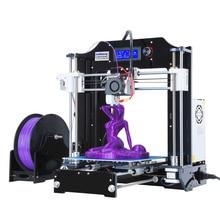 RepRap Prusa i3 3D Imprimante kits FDM Moulé Par Injection CNC Complet couleurs 3d imprimante avec 1 rouleau Filaments pour Artistique et L'éducation