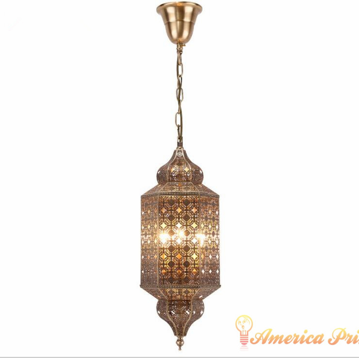 copper hollow carved lanterns handmade craft lights restaurant hotel chandeliers high-end retro atmosphere palace lights. delmon palace hotel ex vendome plaza 4 дубай