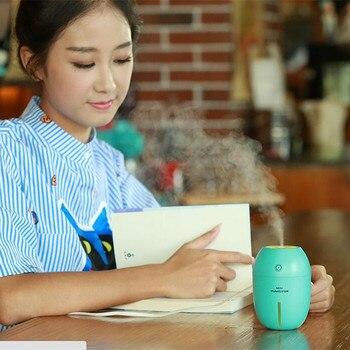 THANKSHARE USB Olio Essenziale Diffusa Portatile Mini Umidificatore Per La Casa Limone Aroma Diffusore Umidificador Aromaterapia Per Auto