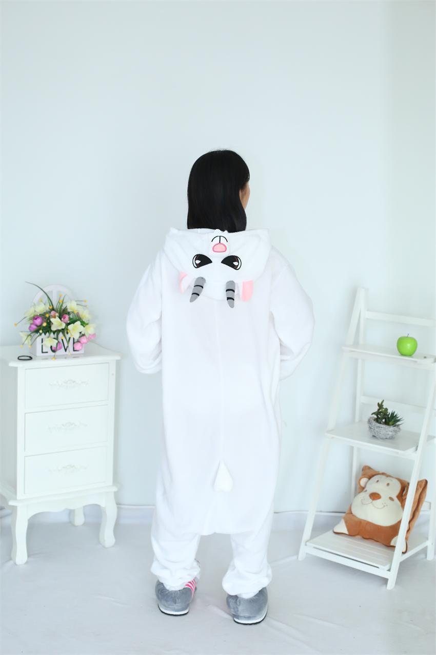 Rajzfilm felnőtt unisex kecske onesies pizsama gyapjú juh pizsama - Jelmezek - Fénykép 6