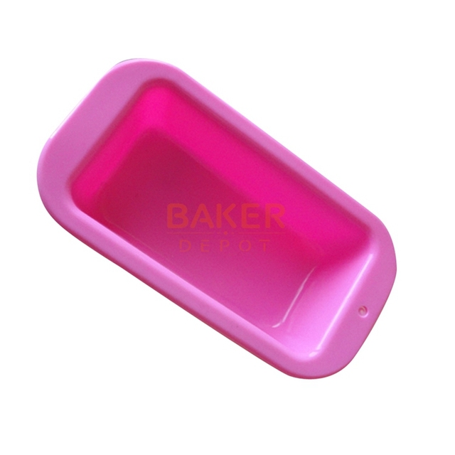 Moldes de jabón hecho a mano pequeña hecha a mano rectangular tostadas Torta moud moldes de silicona 170 ML CDSM-215