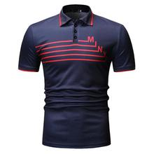 Plus Size Polo Shirt Men Fitness clothing Tops Tees Short sleeve Summer Men Polo Shirt Casual Navy Black New Arrival original new arrival 2018 adidas climachill polo men s polo exercise shirt short sleeve sportswear