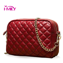 Fashion women messenger bag first layer cowhide Shoulder Crossbody Bag ladies Handbag embossing genuine leather casual small bag стоимость
