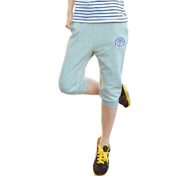 2018 Summer Sweatpants Womens Casual Harem Pants Loose Trousers For Women Skinny Deporte Pants Long Seven Short Capris Trousers 1
