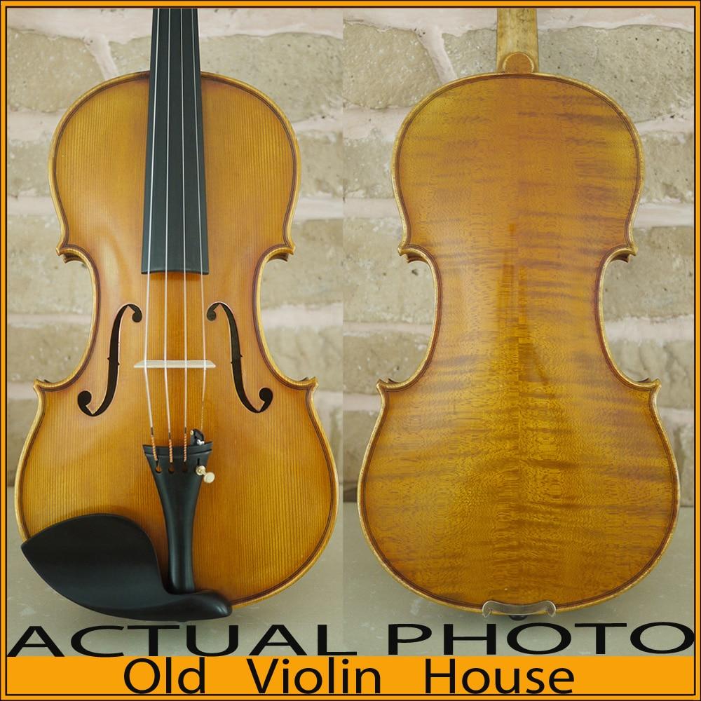 Antique varnish,Antonio Stradivari 1716 Messiah Violin Model with Lable, Free violin case ,No.4513,hand made bow and rosin, серьги с кошачьим глазом лель снкг 1716