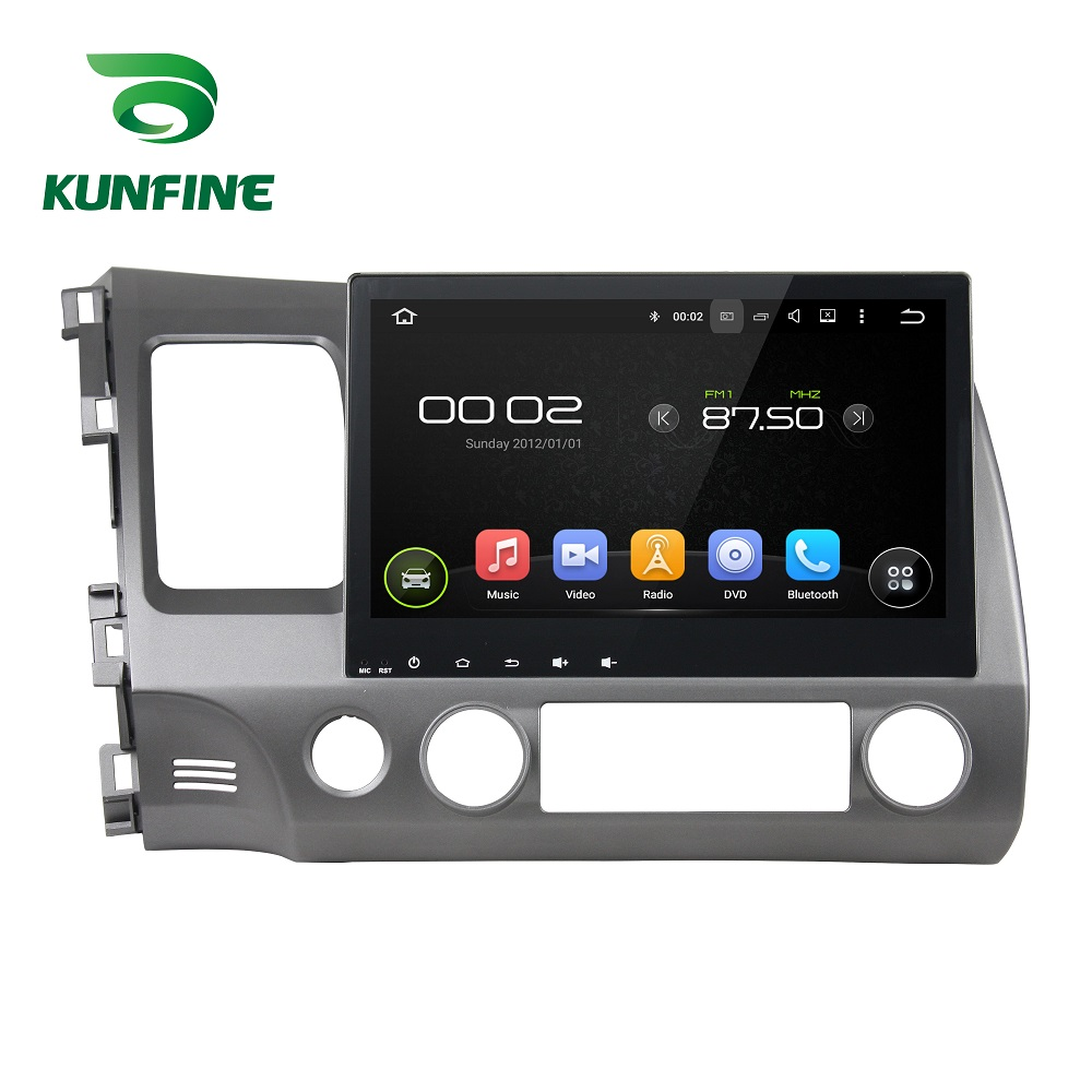 <font><b>Android</b></font> 9.0 Octa Core 4GB RAM 64GB Rom Auto DVD GPS Multimedia-Player Auto <font><b>Stereo</b></font> Deckless für <font><b>HONDA</b></font> <font><b>CIVIC</b></font> 2006-11 Radio WIFI image